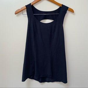 Lululemon Work Out Tank with Back Out